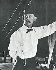 early photograph of August Kaspar, founder of Kaspar Companies